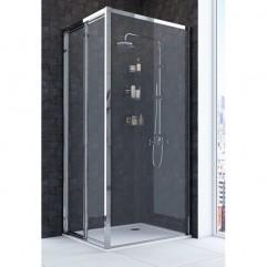 Душевое ограждение 80х80 Акватон Prima со складной дверью