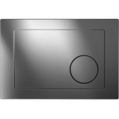Кнопка для инсталляции GEOMETRY, хром блестящий, универсальная