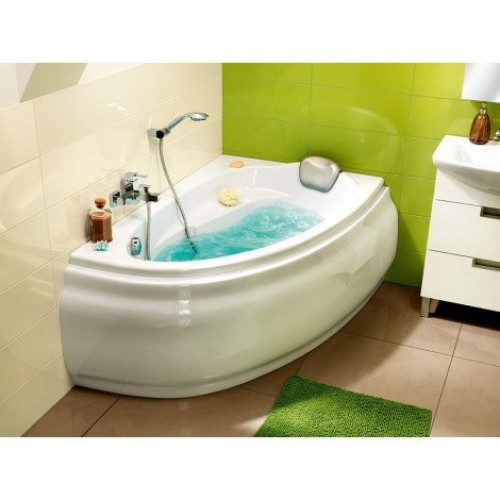 Ванна акриловая 140х90х58 Cersanit Joanna WA-JOANNA*140-R