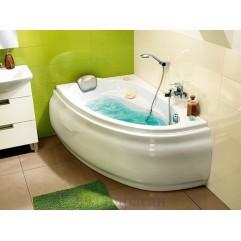 Ванна акриловая 140х90х58 Cersanit Joanna WA-JOANNA*140-L