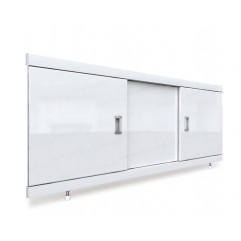 Экран под ванну раздвижной 130 см EMMY Виктория белый