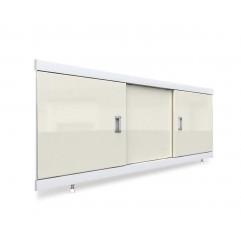 Экран под ванну раздвижной 150 см EMMY Виктория бежевый