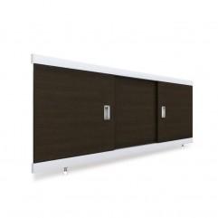 Экран под ванну раздвижной 120 см EMMY Виктория венге
