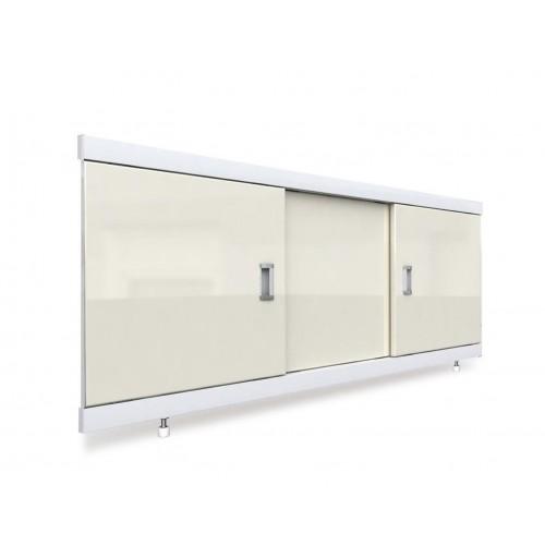 Экран под ванну раздвижной 160 см EMMY Виктория бежевый