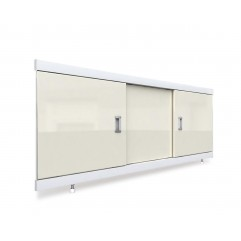 Экран под ванну раздвижной 170 см EMMY Виктория бежевый