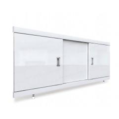 Экран под ванну раздвижной 160 см EMMY Виктория белый