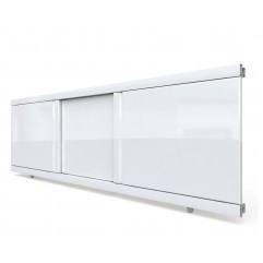 Экран под ванну раздвижной 120 см EMMY Элис белый