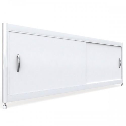 Экран под ванну раздвижной 150 см EMMY Бланка белый