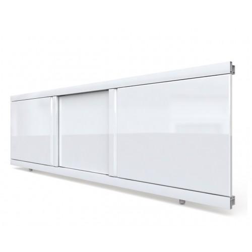 Экран под ванну раздвижной 130 см EMMY Элис белый