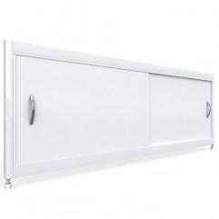 Экран под ванну раздвижной 160 см EMMY Бланка белый
