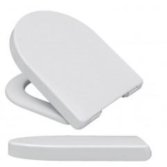 Крышка-сиденье HARO Банока с микролифтом, дюропласт