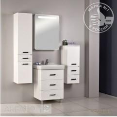 Комплект мебели для ванной Акватон Америна 60 M белый