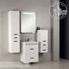 Комплект мебели для ванной Акватон Америна 60 Н белый