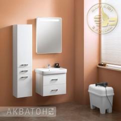 Комплект мебели для ванной Акватон Америна 60 белый