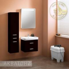 Комплект мебели для ванной Акватон Америна 60 черный