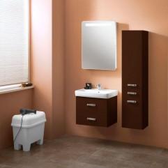 Комплект мебели для ванной Акватон Америна 60 темно-коричневый