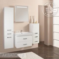 Комплект мебели для ванной Акватон Америна 70 белый