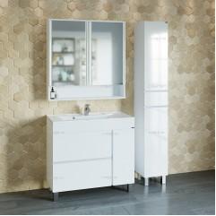Комплект мебели для ванной Марс 90 напольный