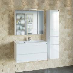 Комплект мебели для ванной Марс 90 подвесной