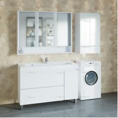 Комплект мебели для ванной Марс 120 напольный