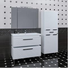 Комплект мебели подвесной Калипсо 100 с приставной тумбой