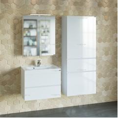 Комплект мебели для ванной Марс 65 подвесной