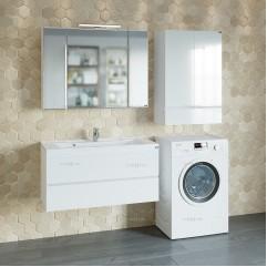 Комплект мебели для ванной Марс 100 подвесной с умывальником Elen 100