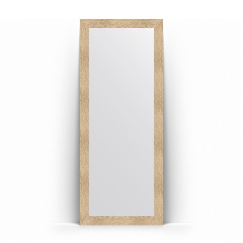 Зеркало напольное в багетной раме - золотые дюны 90 mm BY 6007