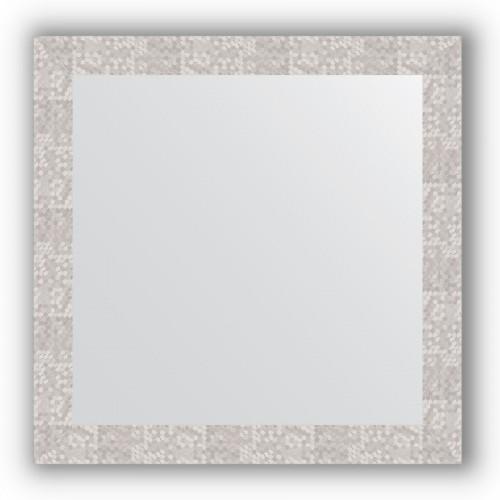 Зеркало в багетной раме - соты алюминий 70 mm BY 3243