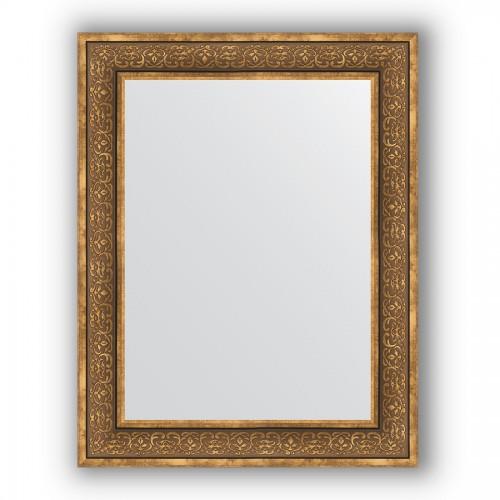 Зеркало в багетной раме - вензель бронзовый 101 mm BY 3191