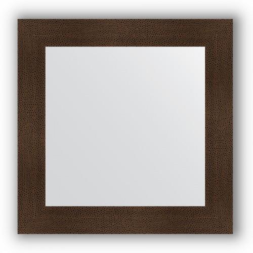 Зеркало в багетной раме - бронзовая лава 90 mm BY 3152
