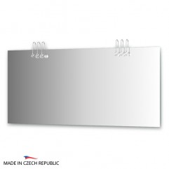 Зеркало с 6-ю светильниками 120 W CRY-C6 0219