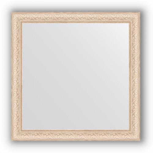 Зеркало в багетной раме - беленый дуб 57 mm BY 0781