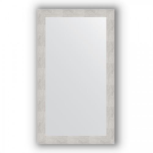 Зеркало в багетной раме - серебряный дождь 70 mm BY 3208
