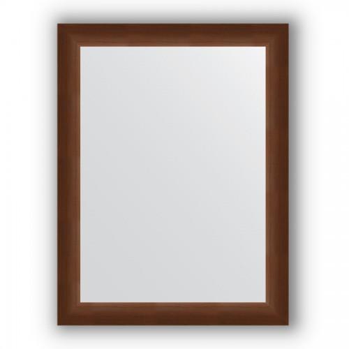 Зеркало в багетной раме - орех 65 mm BY 1014