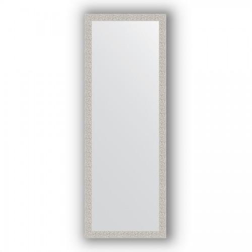 Зеркало в багетной раме - мозаика хром 46 mm BY 3100