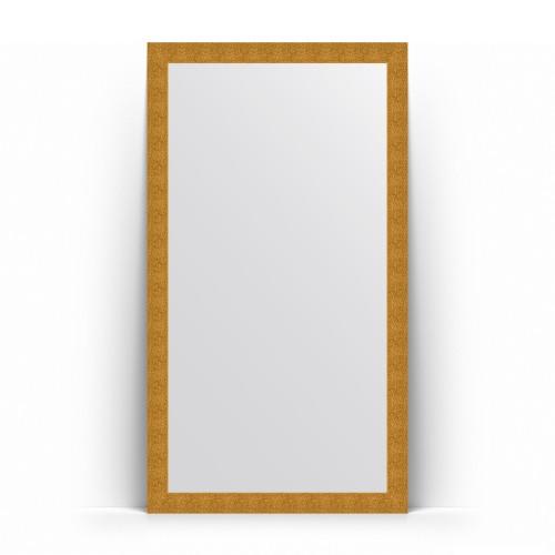 Зеркало напольное в багетной раме - чеканка золотая 90 mm BY 6020