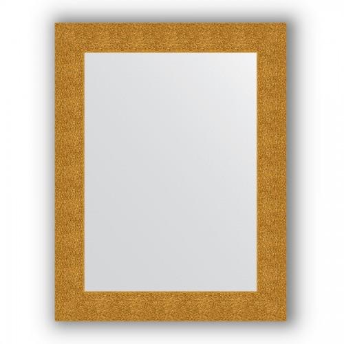Зеркало в багетной раме - чеканка золотая 90 mm BY 3182