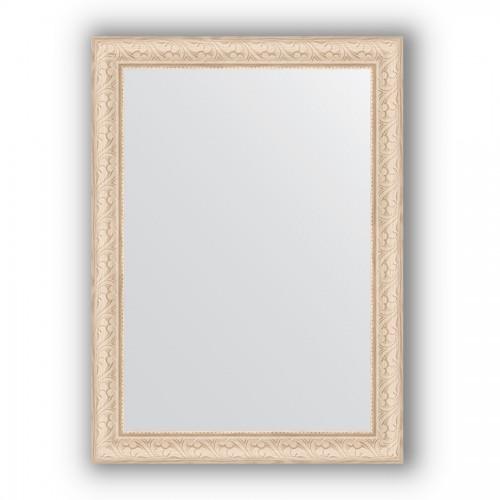 Зеркало в багетной раме - беленый дуб 57 mm BY 0796