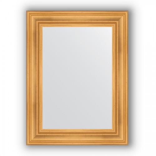 Зеркало в багетной раме - травленое золото 99 mm BY 3059