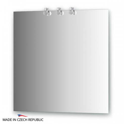 Зеркало с 3-мя светильниками 60 W CRY-B3 0210