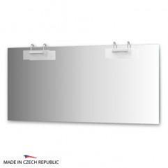 Зеркало с 2-мя светильниками 200 W MOD-D2 0219