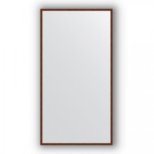 Зеркало в багетной раме - орех 22 mm BY 0740