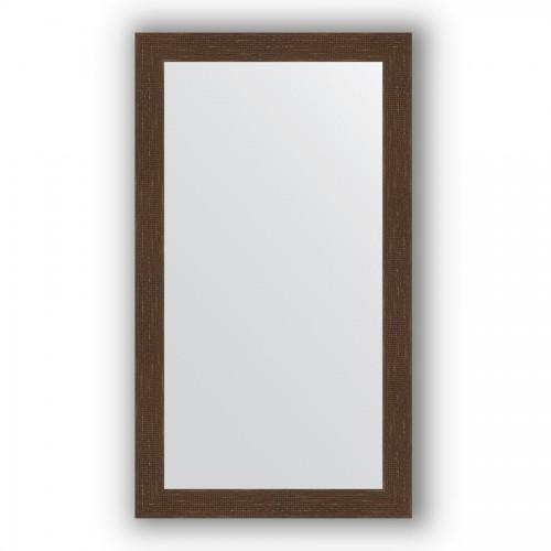 Зеркало в багетной раме - мозаика античная медь 70 mm BY 3209