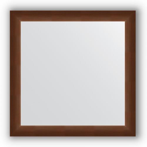 Зеркало в багетной раме - орех 65 mm BY 1029