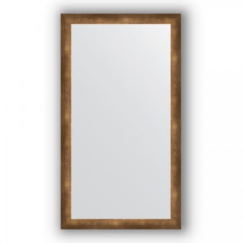 Зеркало в багетной раме - состаренная бронза 66 mm BY 1105