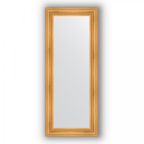 Зеркало в багетной раме - травленое золото 99 mm BY 3123