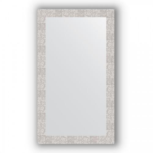 Зеркало в багетной раме - соты алюминий 70 mm BY 3211