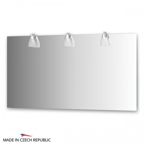Зеркало с 3-мя светильниками 120 W ROM-A3 0217