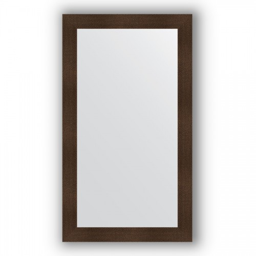 Зеркало в багетной раме - бронзовая лава 90 mm BY 3312